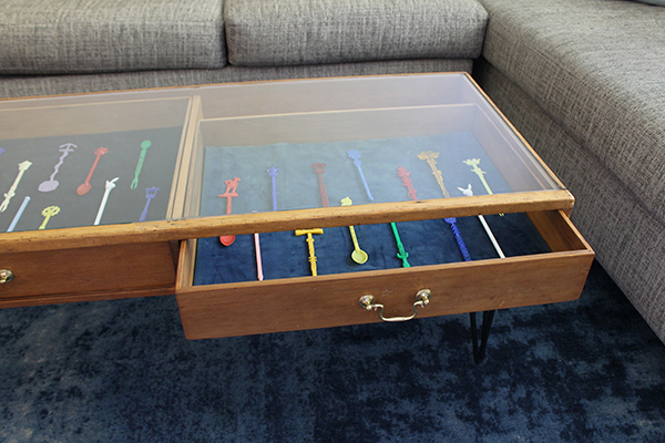 Upcycled Coffee Table To Display Your Collection