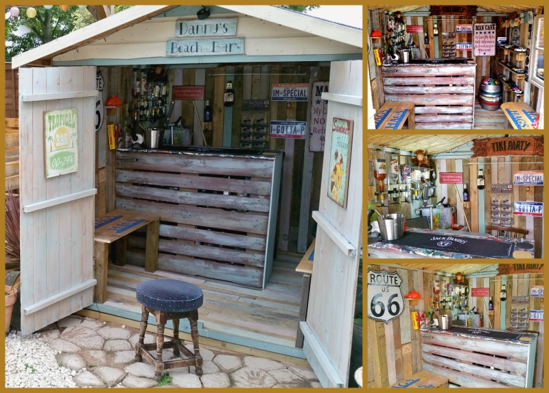 How To Convert Your Shed Into A Pallet Bar